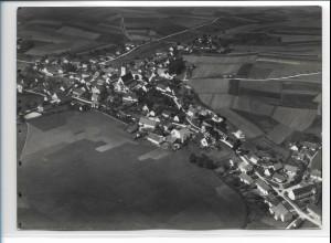 ZZ-0391/ Ilmmünster seltenes Foto Luftbild 1936 18 x 13 cm