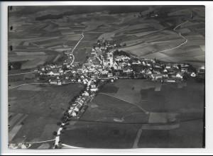 ZZ-0368/ Ilmmünster seltenes Foto Luftbild 1937 18 x 13 cm