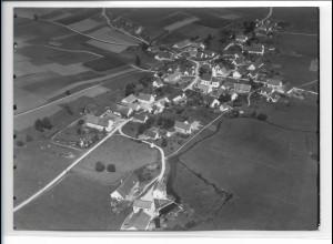 ZZ-0370/ Hettenshausen b. Pfaffenhofen seltenes Foto Luftbild 1938 18 x 13cm