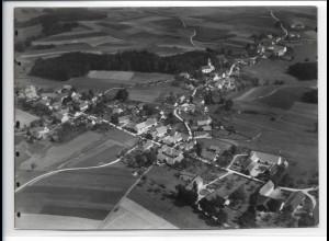ZZ-0371/ Tegernbach b. Pfaffenhofen seltenes Foto Luftbild 1939 18 x 13cm