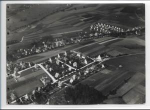 ZZ-0373/ Pfaffenhofen seltenes Foto Luftbild 1939 18 x 13cm