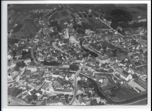 ZZ-0374/ Pfaffenhofen seltenes Foto Luftbild 1939 18 x 13cm
