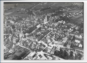 ZZ-0375/ Pfaffenhofen seltenes Foto Luftbild 1939 18 x 13cm