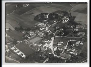 ZZ-0381/ Steinkirchen Dachau seltenes Foto Luftbild 1937 18 x 13 cm