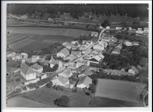 ZZ-0382/ Waling bei Eichstätt seltenes Foto Luftbild 1937 18 x 13 cm