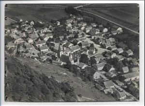 ZZ-0387/ Kinding b. Beilngries seltenes Foto Luftbild 1938 18 x 13 cm