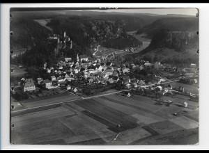 ZZ-0389/ Kipfenberg seltenes Foto Luftbild 1936 18 x 13 cm