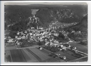 ZZ-0390/ Kipfenberg seltenes Foto Luftbild 1936 18 x 13 cm