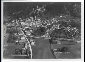 ZZ-0418/ Kipfenberg seltenes Foto Luftbild 1936 18 x 13 cm