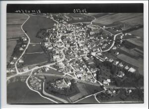 ZZ-0521/ Lenting b. Ingolstadt seltenes Foto Luftbild 1938 18 x 13 cm