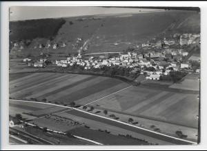 ZZ-0526/ Ober-Eichstätt seltenes Foto Luftbild 1936 18 x 13 cm