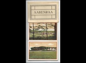 Y15704/ Aabenraa Apenrade Leporello 10 x AK Nordschleswig ca.1920