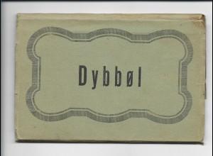 Y15703/ 11 x AK DYBBEL Leporello Nordschleswig ca.1920