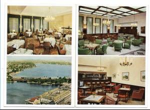 Y15718/ 2 x AK Hamburg Hotel Alster-Hof ca.1935