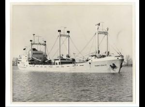 C3724/ Handelsschiff Frachtschiff Thomas Schulte ca.1965 Foto 25,5 x 20,5 cm