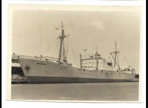 C3721/ Handelsschiff Frachtschiff Brooktor in Tampico 1963 Foto 17,5 x 12,5 cm
