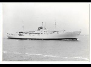 C3715/ Handelsschiff Hornkoog Foto 1959 22 x 14,5 cm