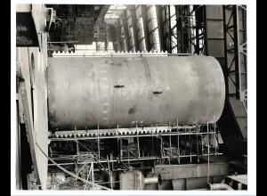 C3708/ Hamburg Hafen Werft Schiffsbau Foto 1975 25,5 x 20,5 cm