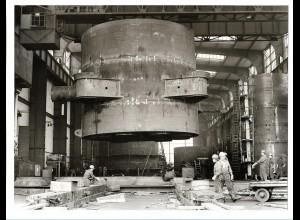 C3705/ Hamburg Hafen Werft Schiffsbau Foto 1975 23 x 17,5 cm