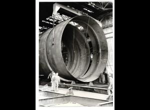 C3704/ Hamburg Hafen Werft Schiffsbau Foto 1972 23 x 16 cm