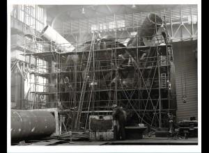 C3700/ Hamburg Hafen Werft Schiffsbau Foto 1976 23 x 17 cm