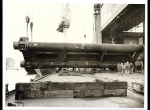 C3695/ Hamburg Hafen Werft Schiffsbau Foto 1974 23 x 17,5 cm