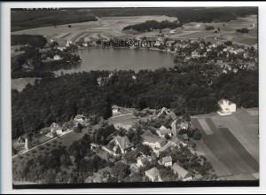 ZZ-5492/ Oberpfaffenhofen seltenes Foto Luftbild 18 x 13 cm