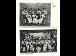 Y16013/ 2 x AK Gruß von den lustigen Isartalern ca.1955 Musikanten