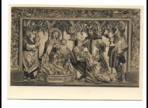 Y16010/ Weltkunstkarte Nr. 3003 Altar von St. Wolfgang (Salkammergut) Foto AK