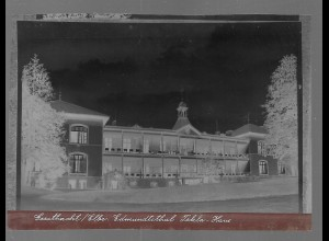 Neg5365/ Geesthacht Edmundtstal Tekla-Haus altes Negativ 50er Jahre