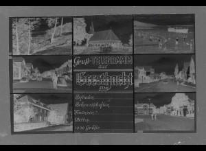 Neg5364/ Geesthacht Elbe altes Negativ 50/60er Jahre