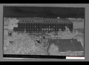 Neg5359/ Geesthacht Krankenhaus altes Negativ 50er Jahre