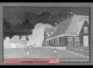 Neg5351/ Husum Osterfelder Bauernhaus altes Negativ 40/50er Jahre
