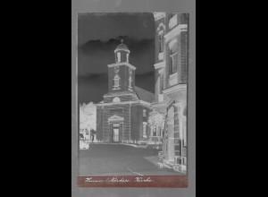 Neg5350/ Husum Kirche altes Negativ 40/50er Jahre