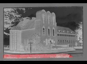 Neg5344/ Husum Ludwig Nissen-Haus altes Negativ 40/50er Jahre