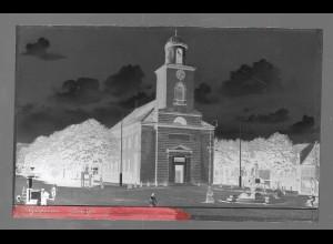 Neg5341/ Husum Kirche altes Negativ 40/50er Jahre