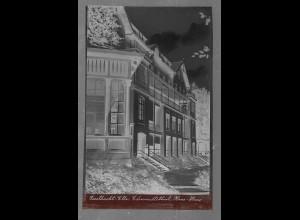 Neg5390/ Geesthacht Edmundthal Hans-Haus altes Negativ 40er Jahre