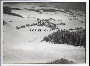 ZZ-0563/ Schönwald Schwarzwald seltenes Foto Luftbild ca.1938 18 x 13 cm