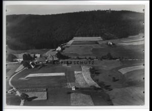 ZZ-0557/ Föhrenbühl Heiligenberg seltenes Foto Luftbild 1937 18 x 13 cm