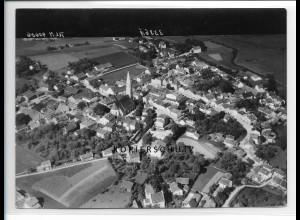 ZZ-0544/ Velden seltenes Foto Luftbild 1938 18 x 13 cm