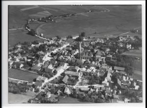 ZZ-0543/ Velden seltenes Foto Luftbild 1938 18 x 13 cm