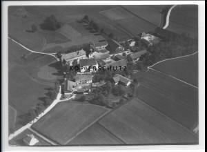 ZZ-0542/ Ruprechtsberg b. Velden seltenes Foto Luftbild 1938 18 x 13 cm