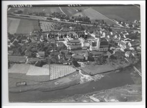 ZZ-0540/ Marklhofen seltenes Foto Luftbild 1938 18 x 13 cm