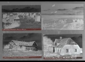 Neg5423/ 32 x Rotenburg alte Negative 40/50er Jahre
