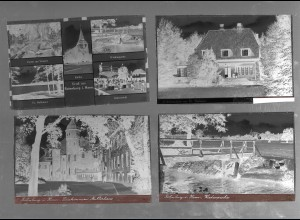 Neg5422/ 28 x Rotenburg alte Negative 40/50er Jahre