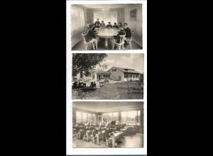 Y16260/ 6 x AK Evangel. Landschulheim Kleintobel Mittelschule für Jungen ca.1960