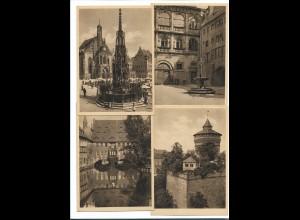 Y16262/ 7 x AK Nürnberg Festkarte zum Dürerjahr 1928