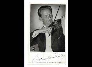 V139/ Barnabas von Geczy Autogramm Violinist Electrola-Karte