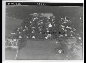 ZZ-0573/ Haar - Eglfing seltenes Foto Luftbild 1938 18 x 13 cm