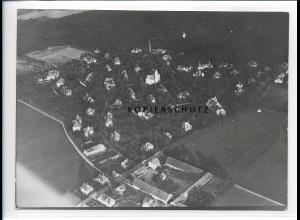 ZZ-0574/ Haar - Eglfing seltenes Foto Luftbild 1938 18 x 13 cm